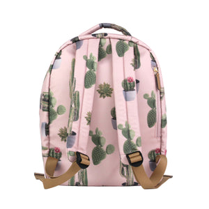 Mini-Go Backpack in Cactus Print