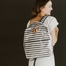 Mini-Go Backpack in Stripe Print