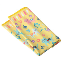 Cats Collection Baby Blanket in Hello Yellow