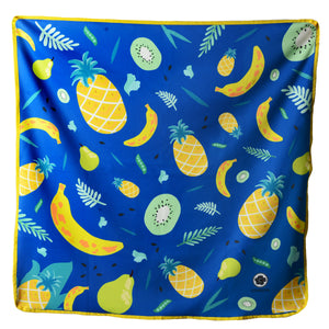Fruits Collection Baby Blanket in Pine Nana