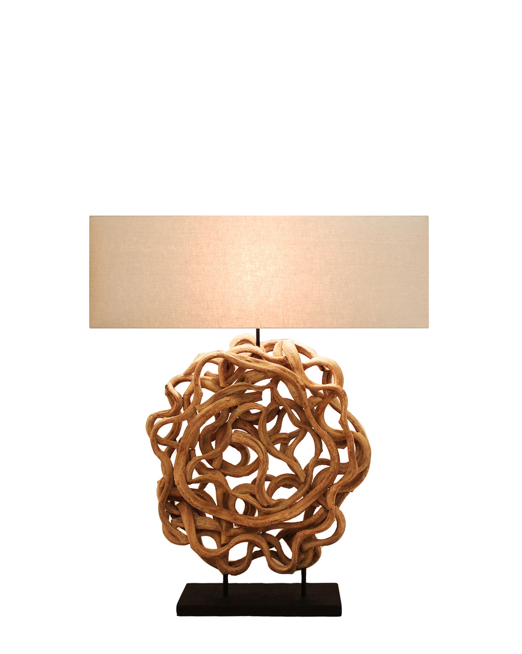 Nordlys Beauty Bleached - Table Lamp w/ Shade