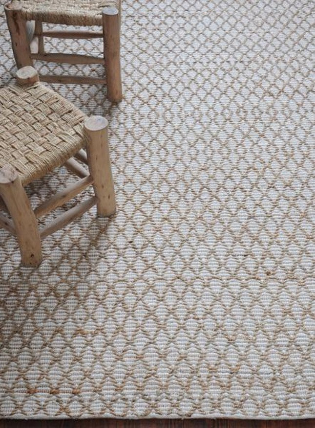 Trail Carpet Ivory - 120 x 180 cm