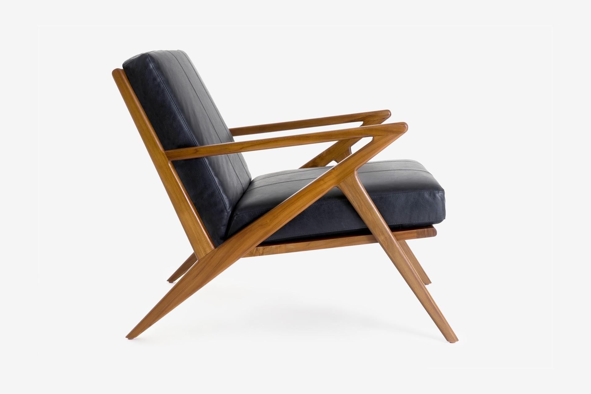 Awesome Amager Lounge Chair Mahogany Stain Nordby Ocoug Best Dining Table And Chair Ideas Images Ocougorg