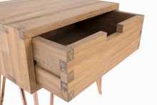Load image into Gallery viewer, Kolding Bed Side Table in Recycled Teak