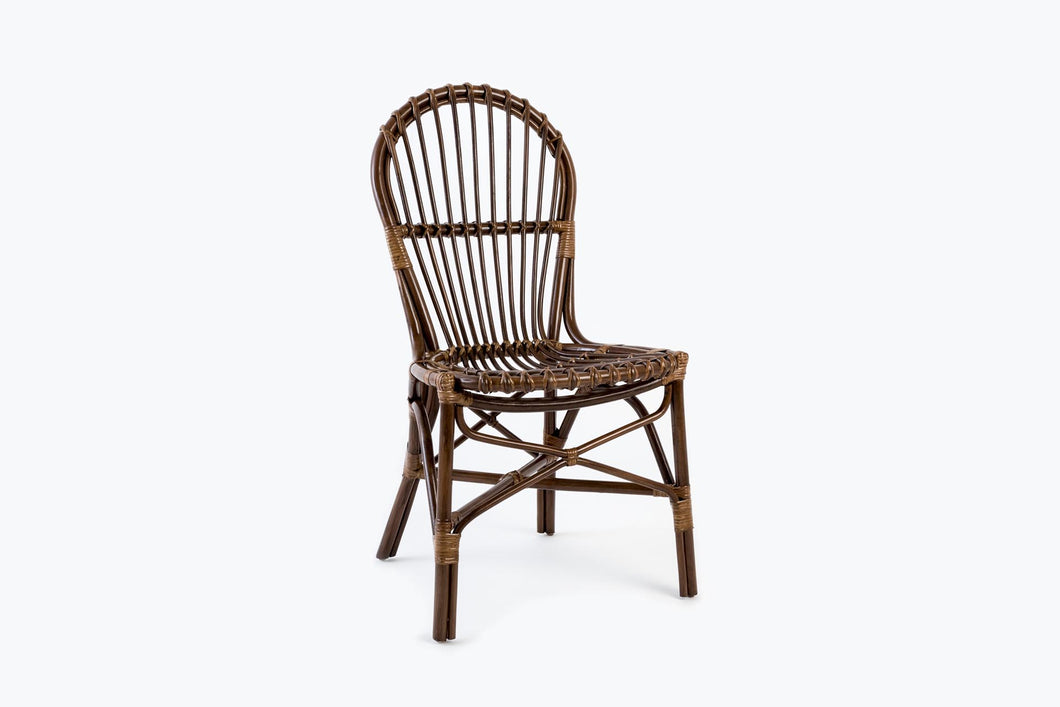 Manila Rattan Dining Side Chair