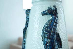 Nordlys Sea Horse Lamp w/Shade