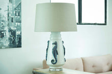Load image into Gallery viewer, Nordlys Sea Horse Lamp w/Shade