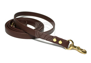 Dark Chocolate Brown Small Dog Leash