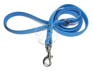 Caribbean Blue Biothane Large Dog Leash