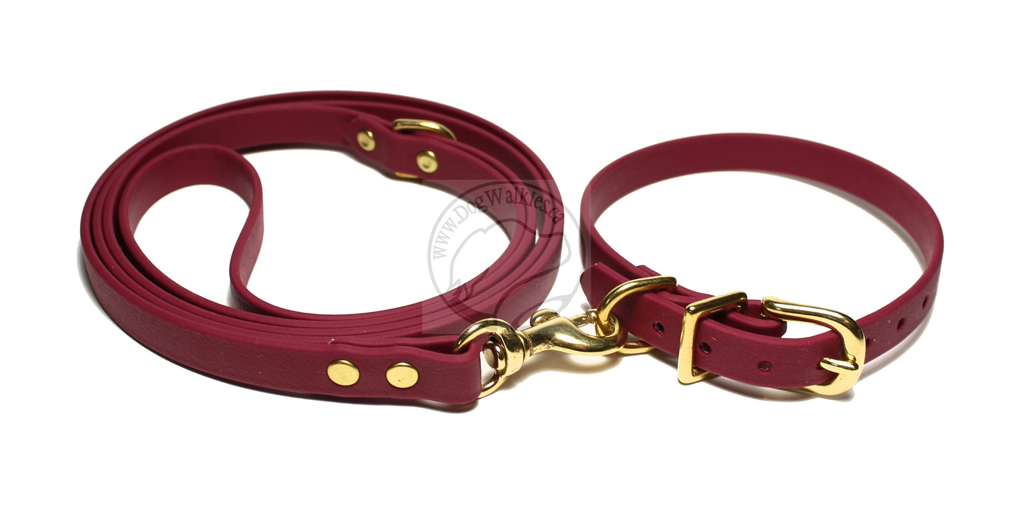 Wine Merlot Small Dog Leash