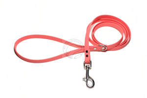 *NEW* Peach Coral Biothane Small Dog Leash