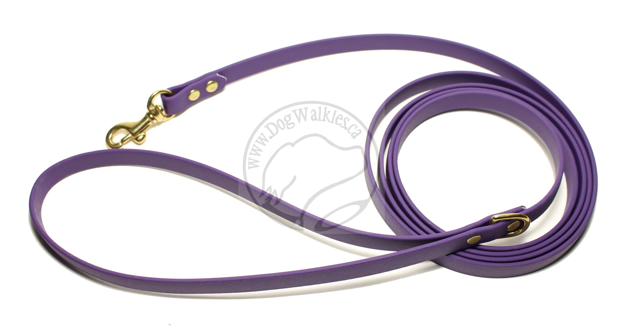 Royal Purple Small Dog Leash