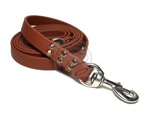 Milk Chocolate Brown Biothane Large Dog Leash