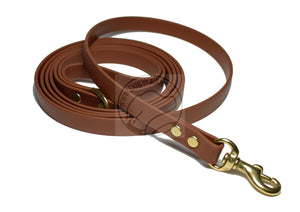 Milk Chocolate Brown Small Dog Leash