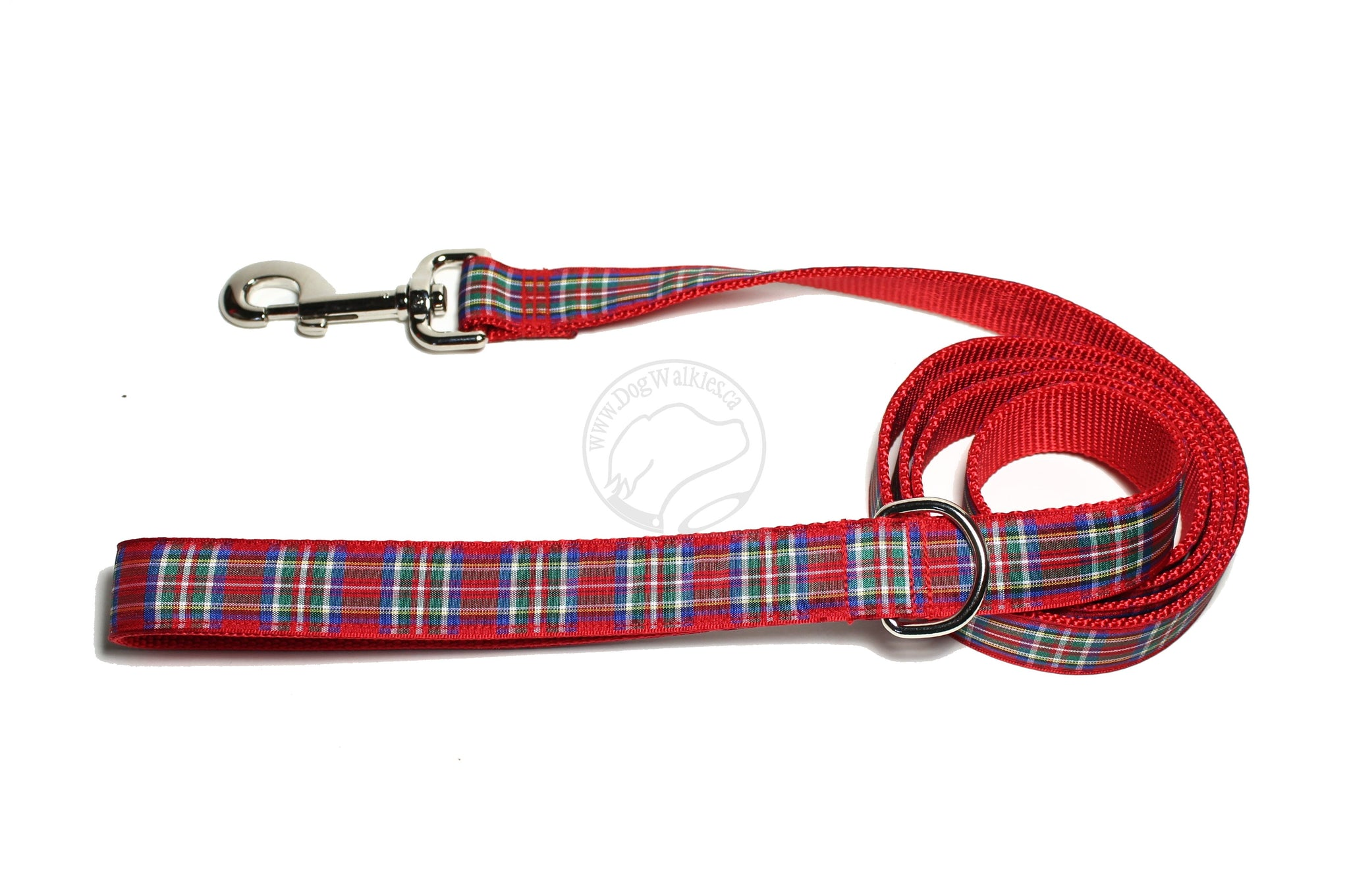 Royal Stewart clan Tartan Dog Leash