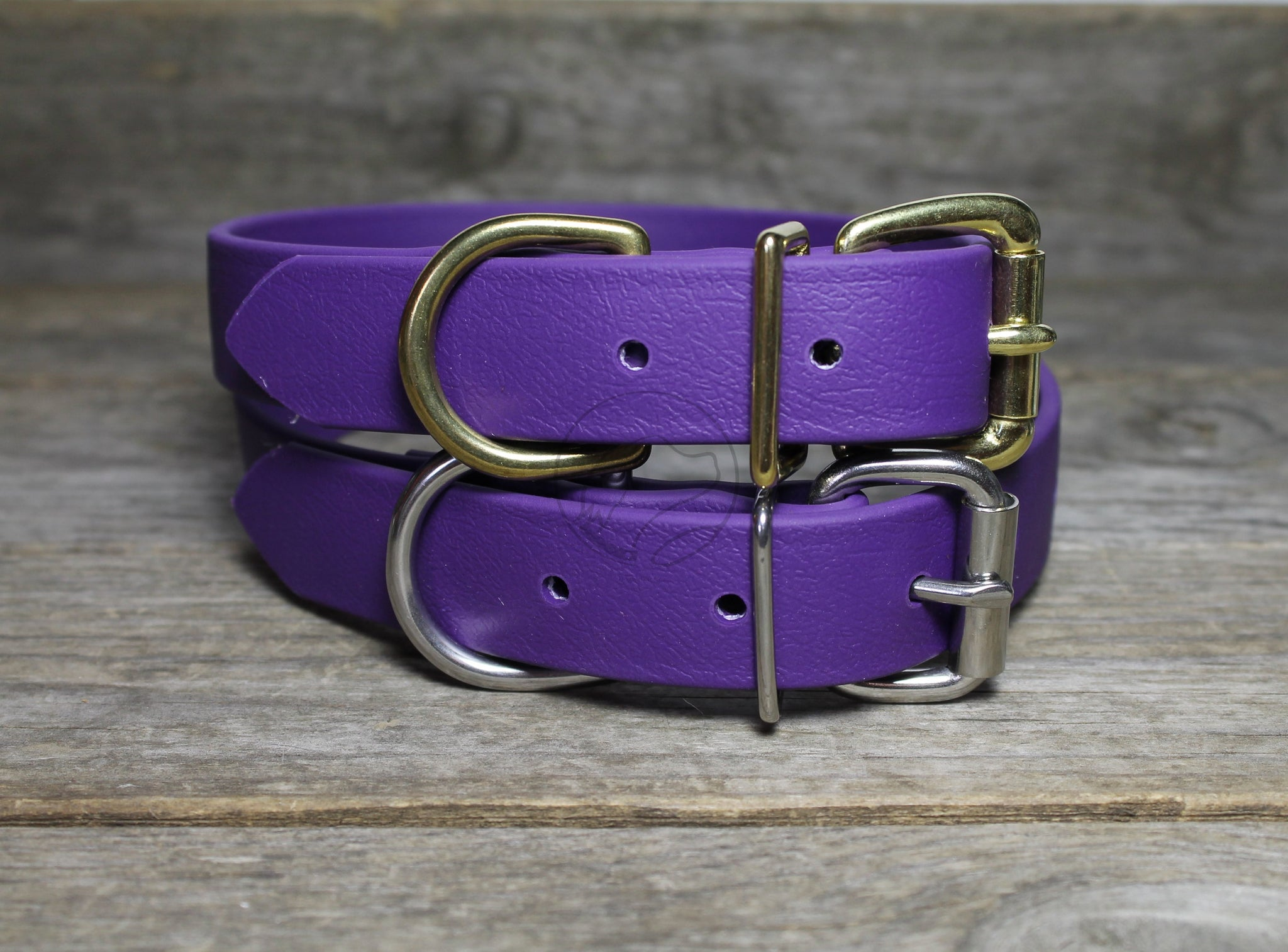Royal Purple Biothane Dog Collar - 1 inch (25mm) wide