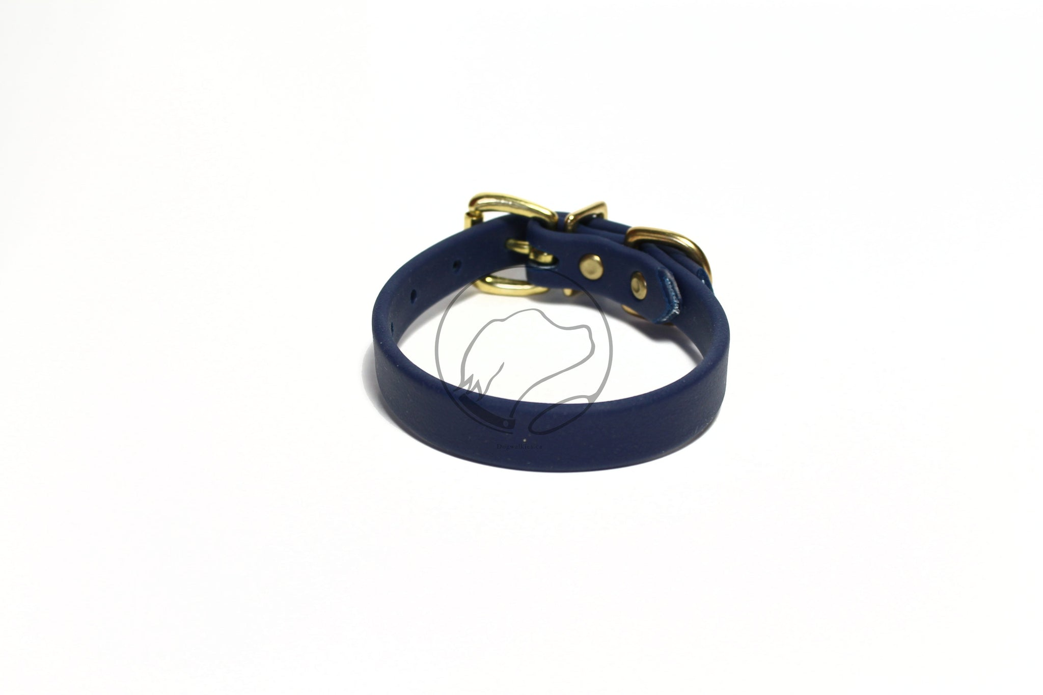 "*NEW* Navy Blue Biothane Dog Collar - 5/8""(16mm) wide"