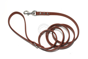 Milk Chocolate Brown Biothane Dog Leash