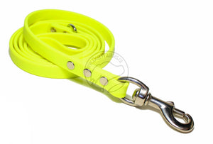 Neon Yellow Biothane Dog Leash