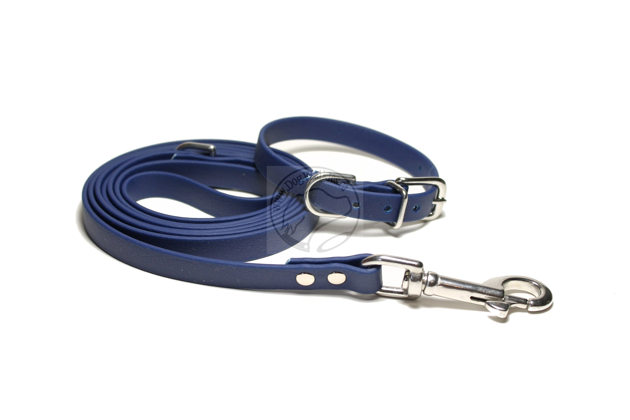 *NEW* Navy Blue Biothane Small Dog Leash