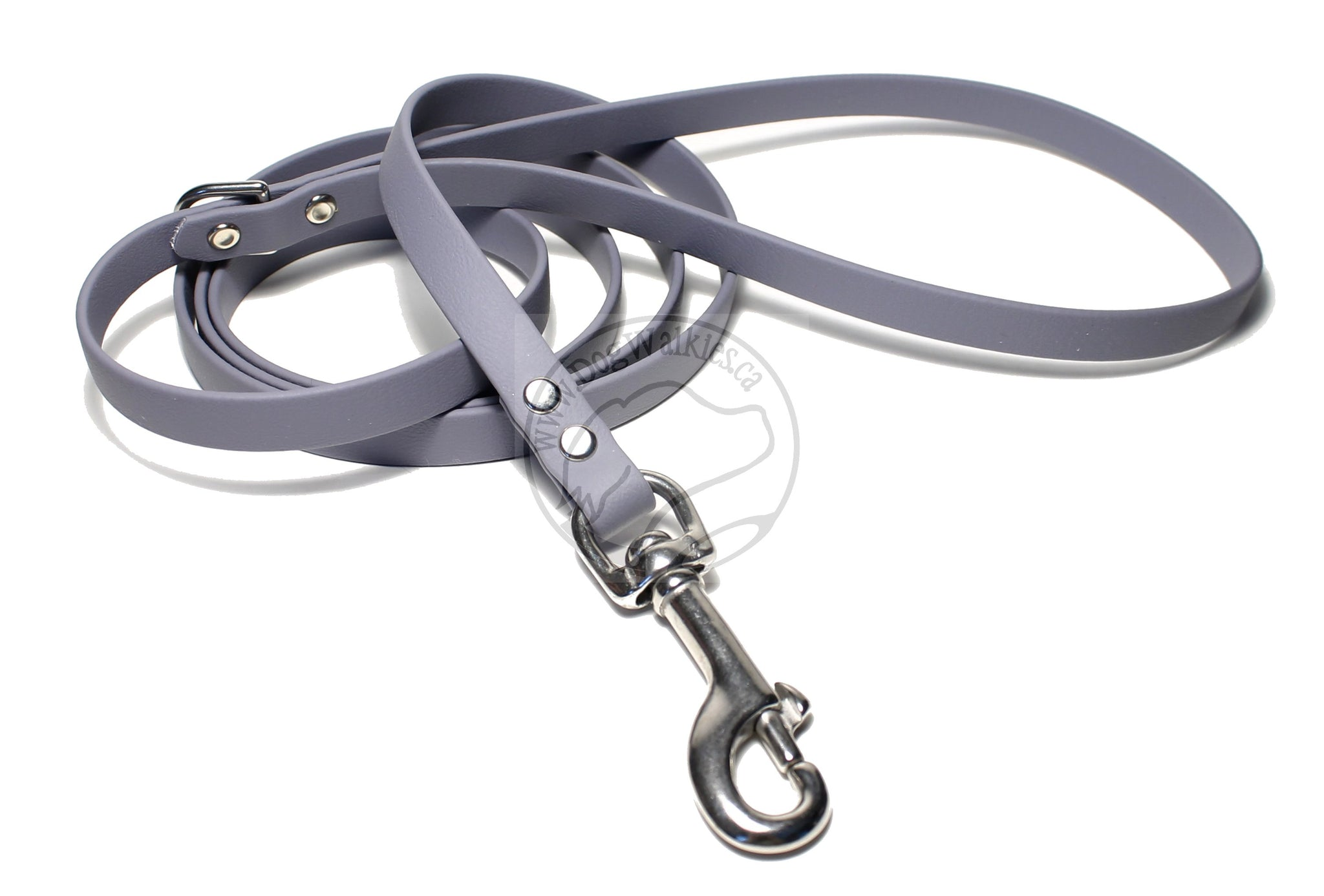 Stormy Gray Small Dog Leash