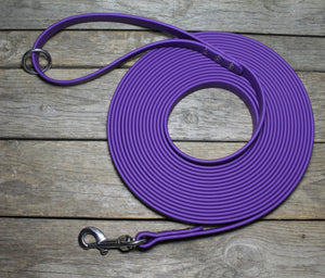 Heavier Weight Waterproof Tracking Recall Long Line - leash for extra large to large dogs