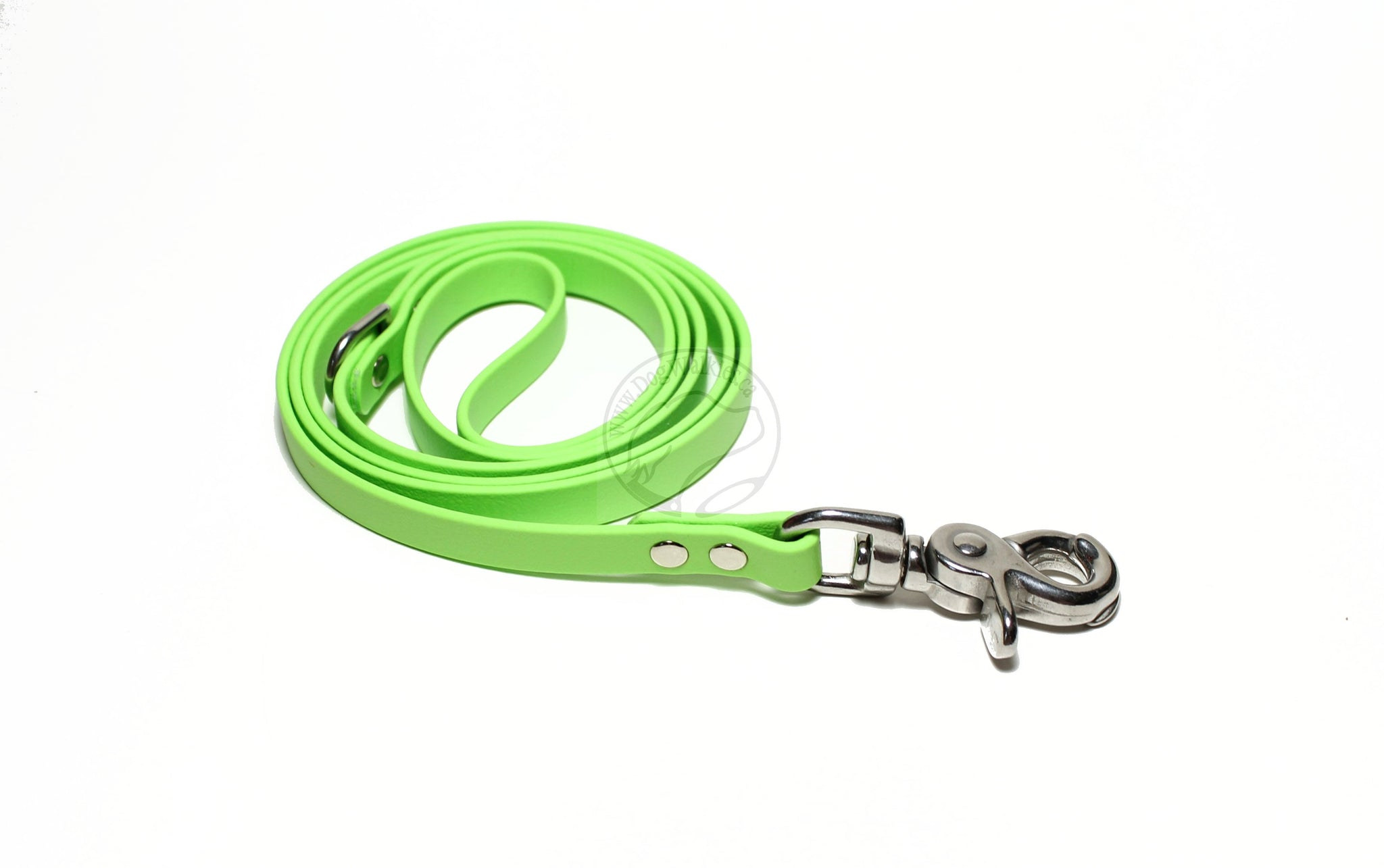 *NEW* Lime Green Biothane Small Dog Leash