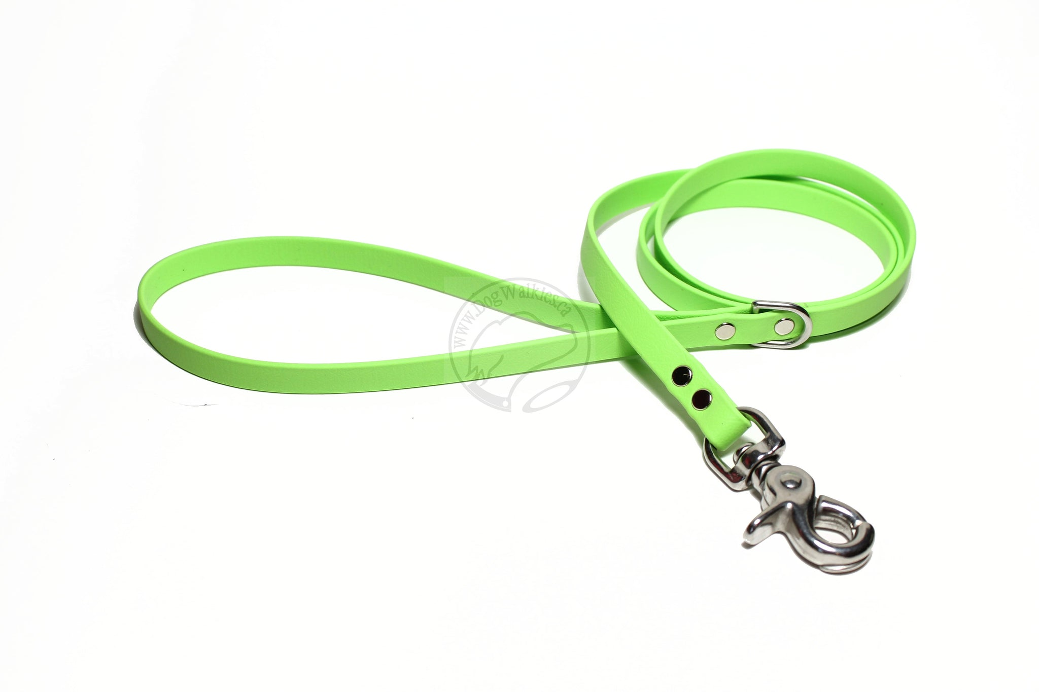 Lime Green Biothane Small Dog Leash