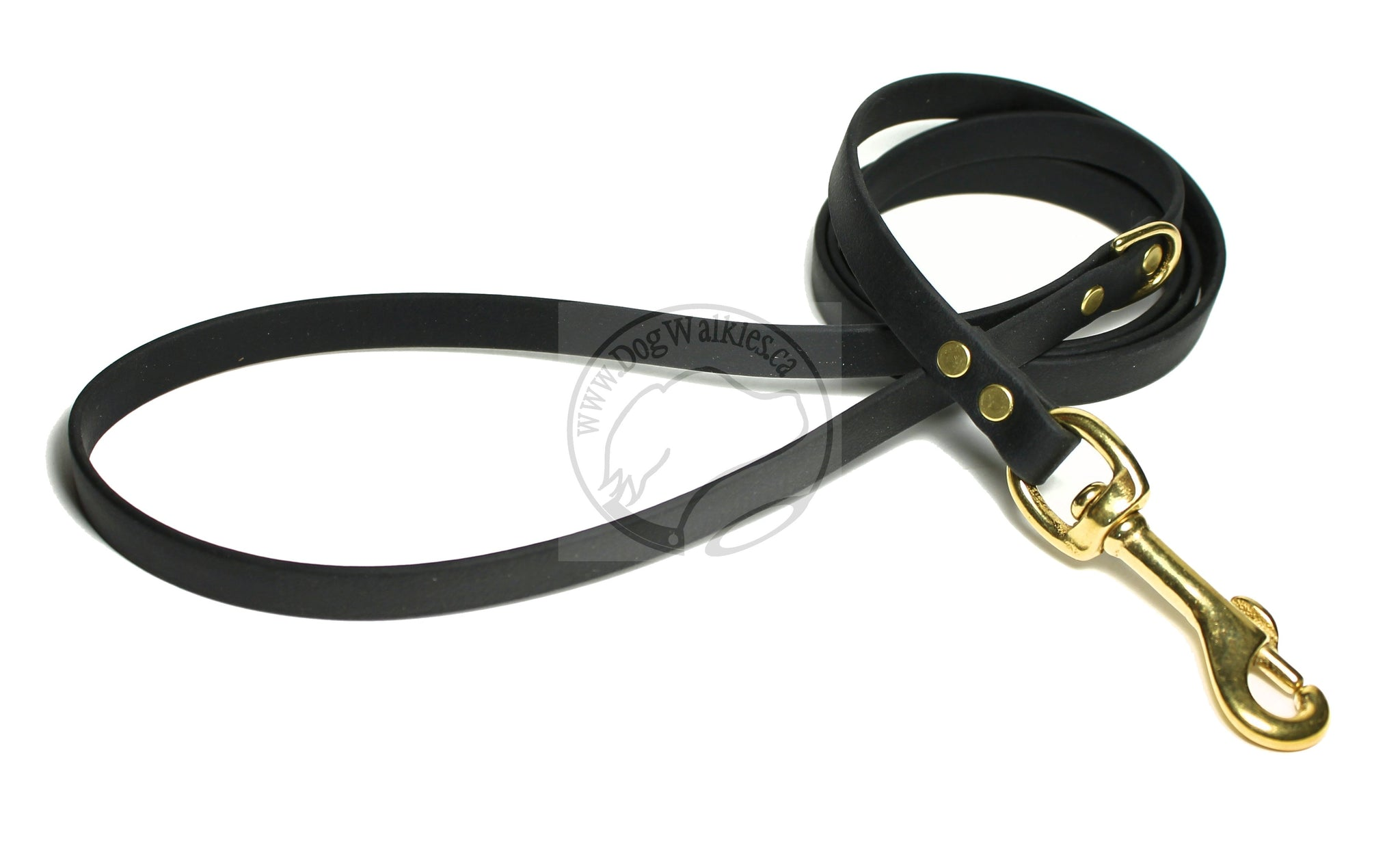 Jet Black Small Dog Leash