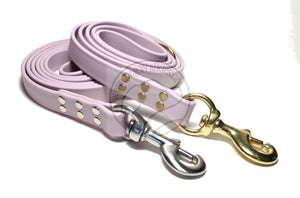 Pastel Purple Biothane Large Dog Leash