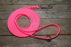 Neon Pink Waterproof Tracking Recall Long Line