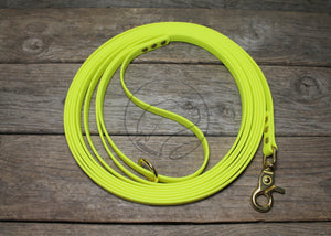 Neon Yellow Waterproof Tracking Recall Long Line
