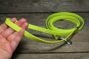 Neon Yellow Small Dog Leash