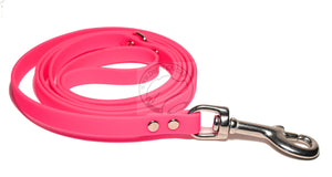 Neon Pink Small Dog Leash