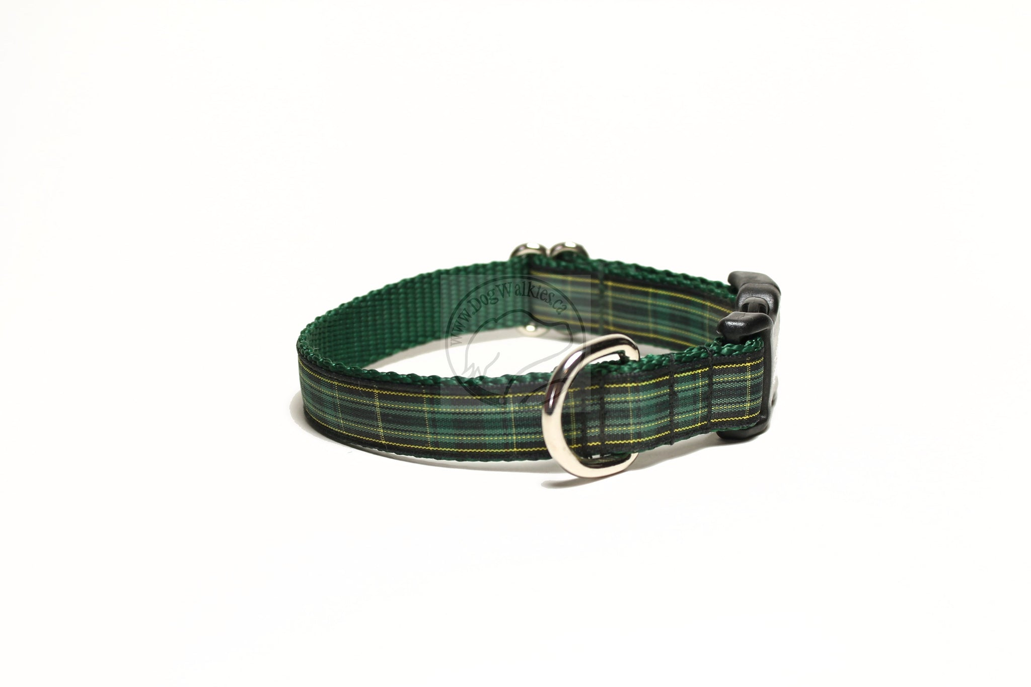 Pride of Ireland tartan - dog collar