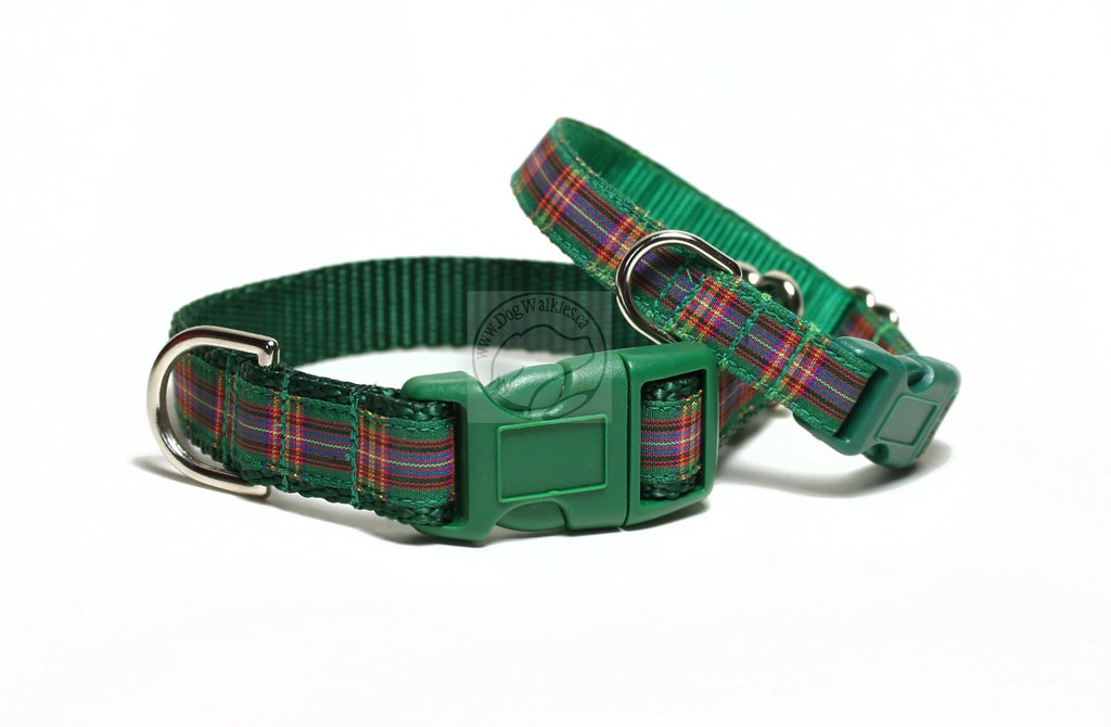 Cameron of Lochiel tartan - dog collar