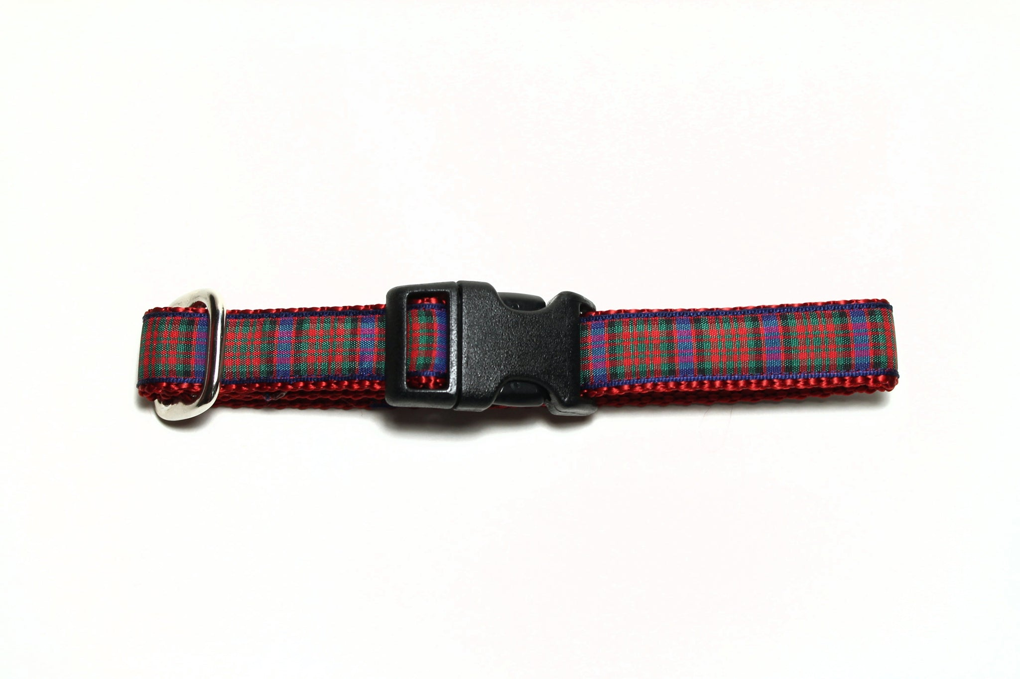 MacDonald clan tartan - dog collar