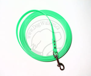 Neon Apple Green Waterproof Tracking Recall Long Line