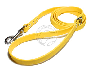 Sunflower Yellow Biothane Large Dog Leash