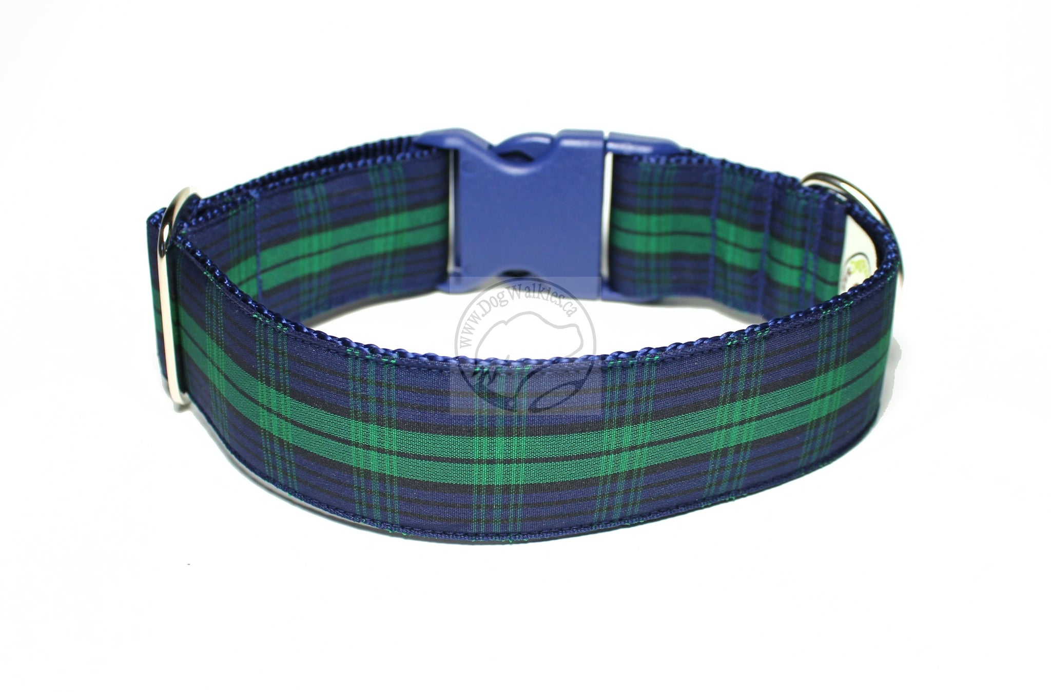 Black Watch tartan - dog collar