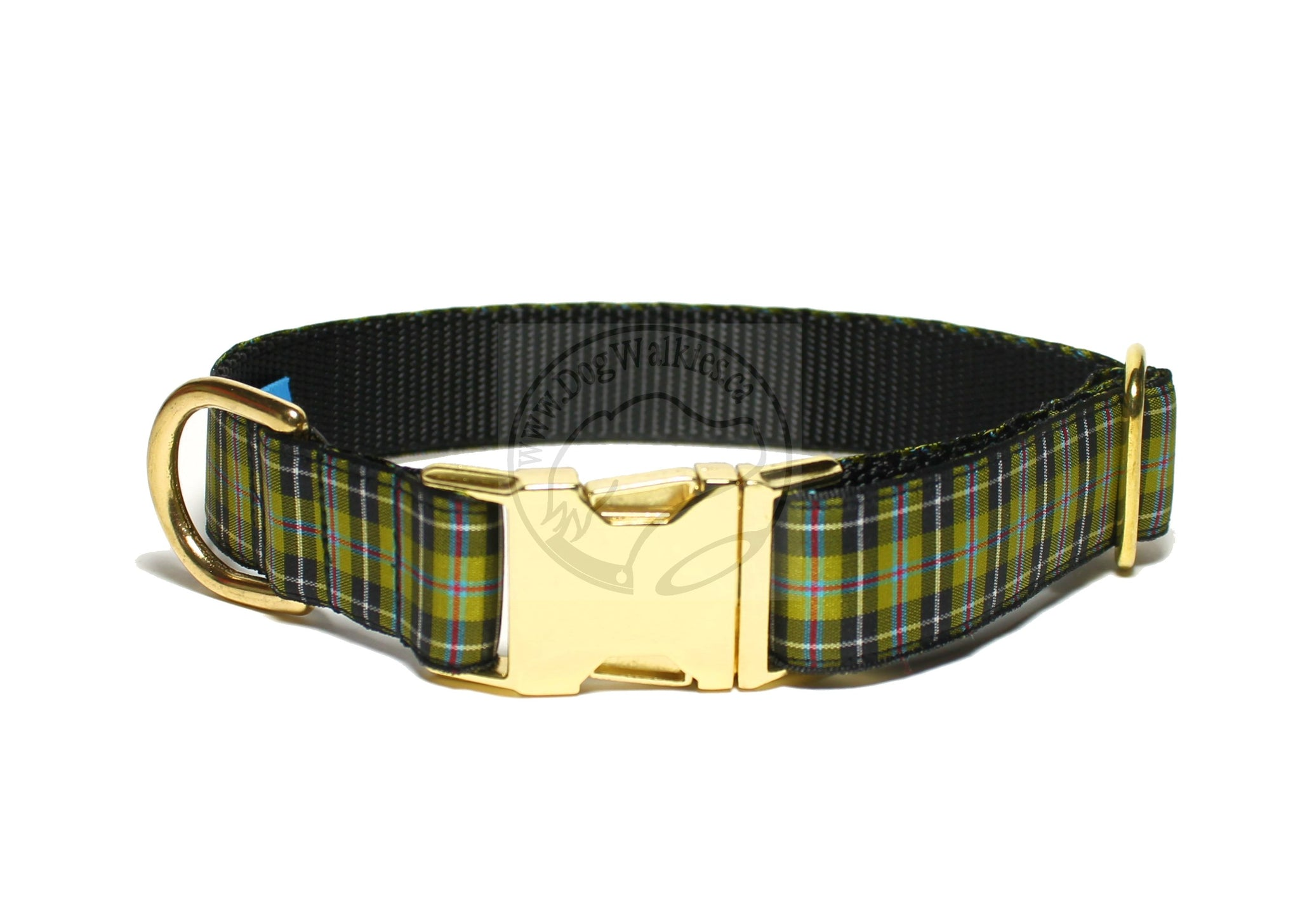 Cornish National tartan - dog collar