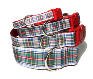 Dress Stewart clan tartan - dog collar