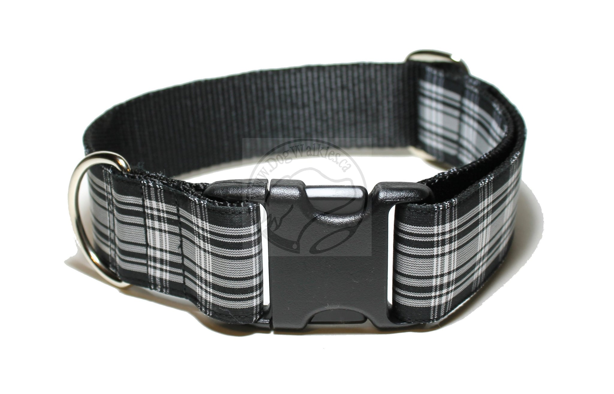 Menzies Clan tartan - dog collar