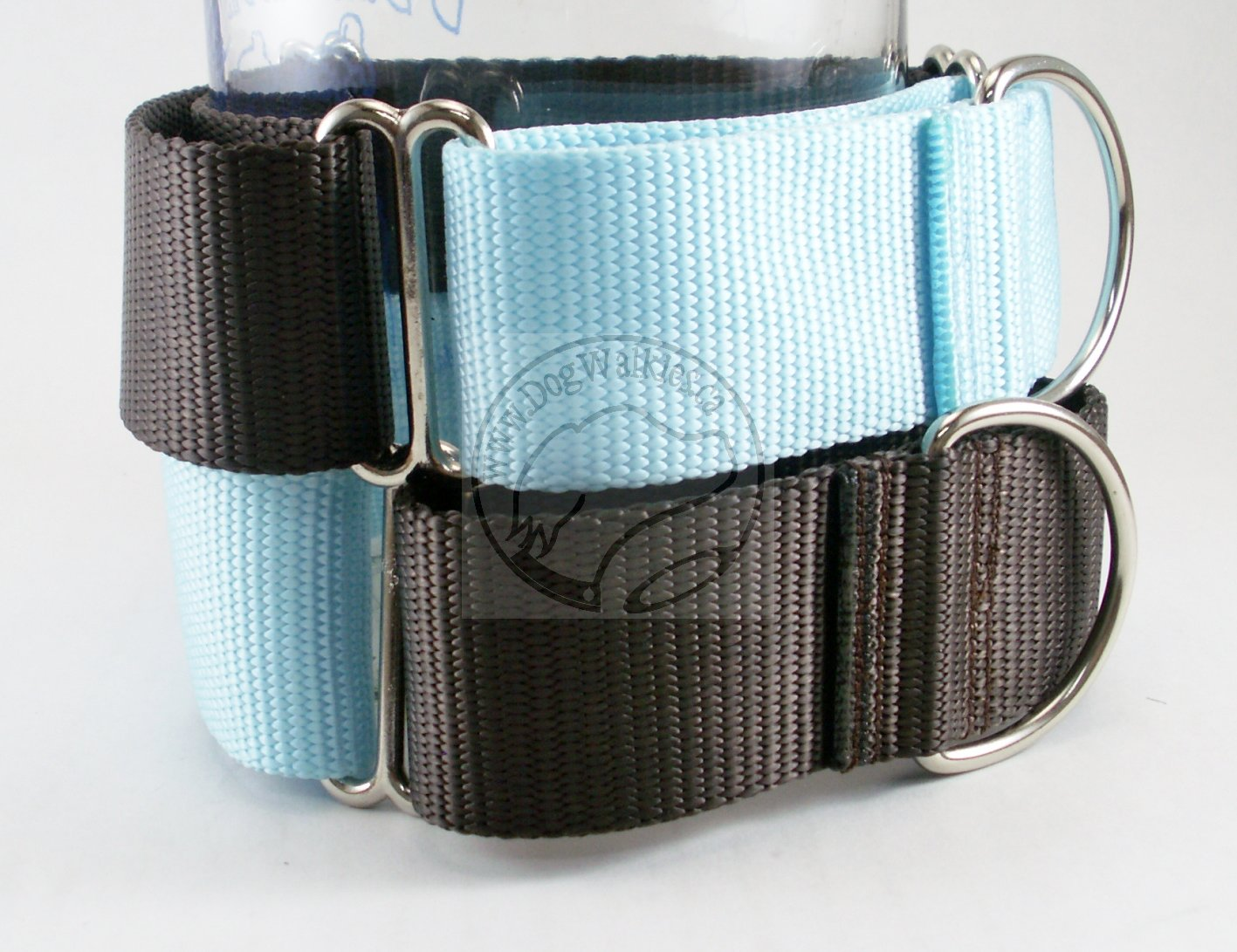"Wide Martingale Dog Collar 1.5"" (38mm); Simple - Elegant - Strong"