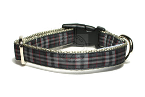 Pride of Scotland Silver tartan - dog collar