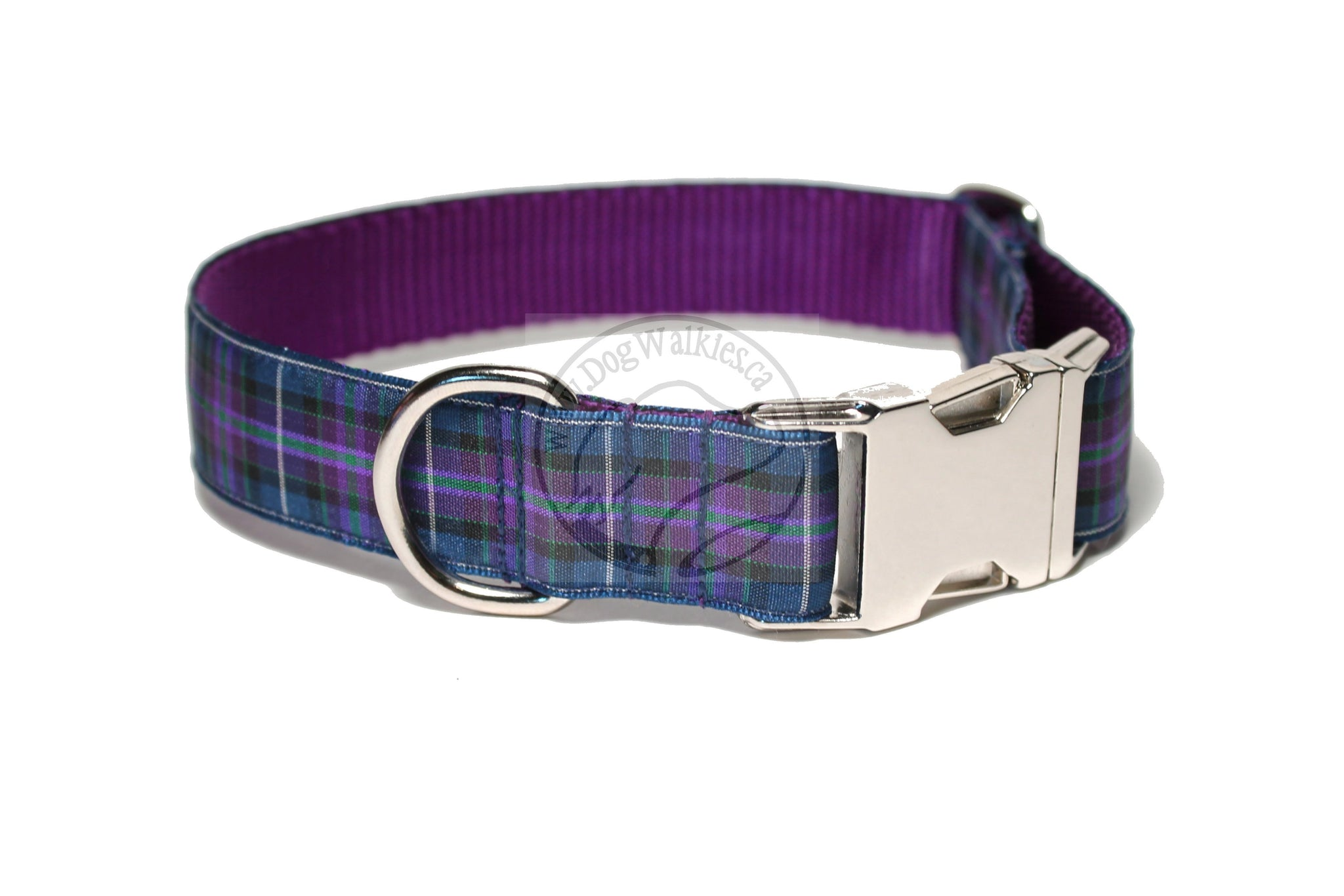 Pride of Scotland Modern tartan - dog collar