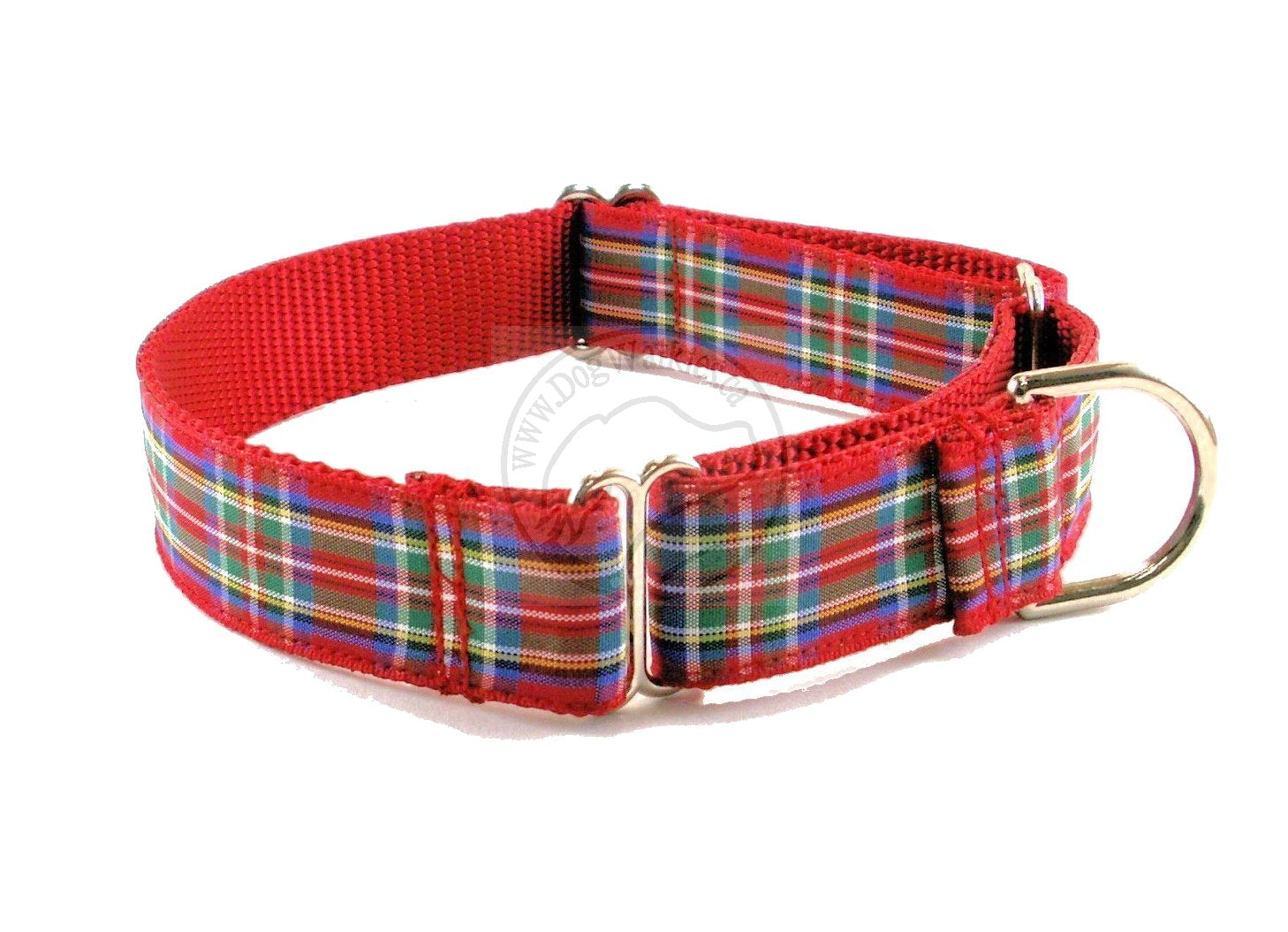 Royal Stewart clan tartan - dog collar