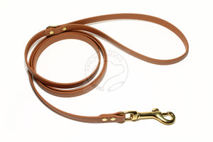 Caramel Brown Small Dog Leash