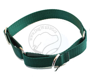 "Martingale Dog Collar 1"" (25mm) wide; Simple - Elegant - Strong"