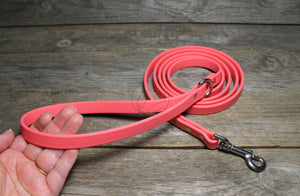 *NEW* Peach Coral Biothane Dog Leash
